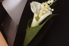 BY Ghazala Boutonniere Bouquet b17
