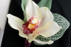 BY Ghazala Boutonniere Bouquet b18